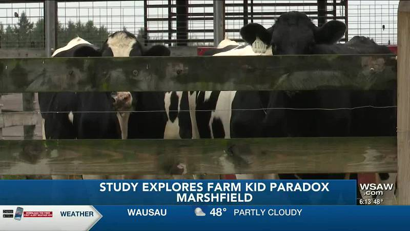National Farm Medicine Center studies risks, benefits of growing up on a farm