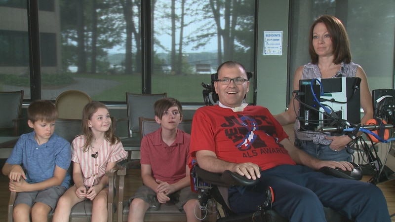 The Smith family is fighting ALS and pushing for progress towards a cure.