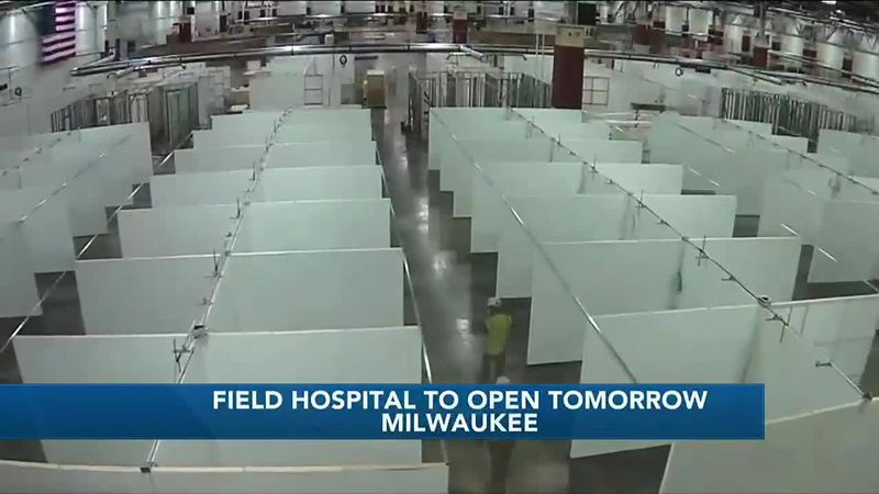 Field hospital to deal with COVID-19 surge opening Wednesday at State Fair Park in West Allis