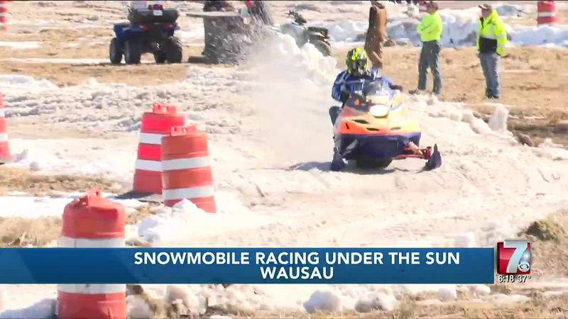 Snowmobile Racing Under the Sun 3/6/2021