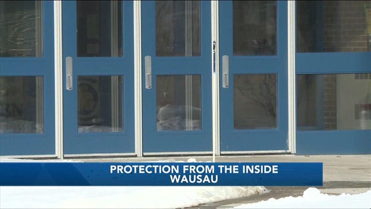 Exterior of Wausau West High School (WSAW photo)