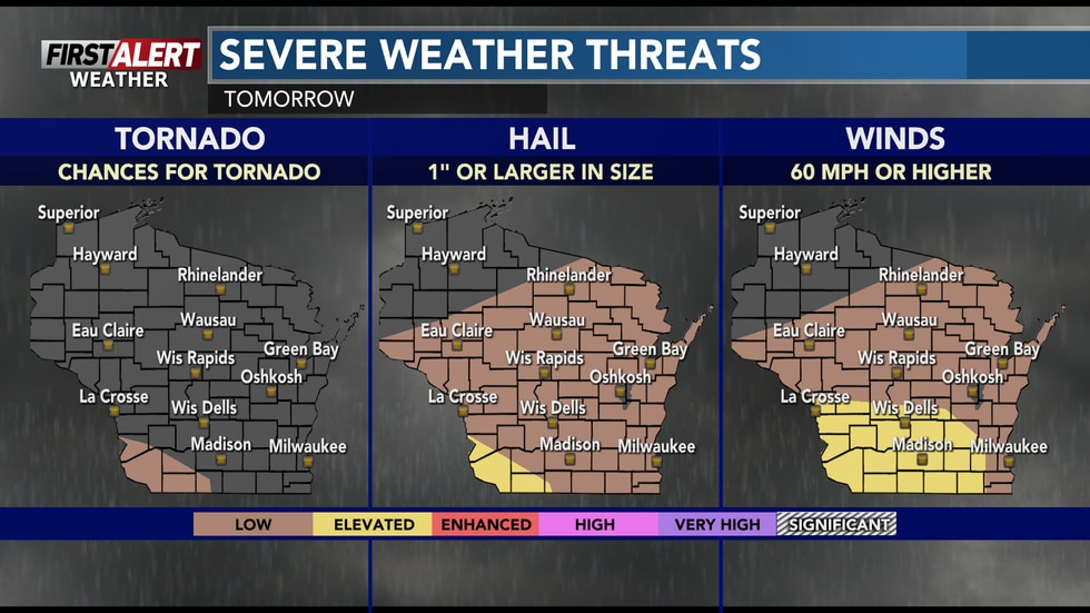 While very limiting conditions are expected for severe thunderstorms in our area Thursday, a...