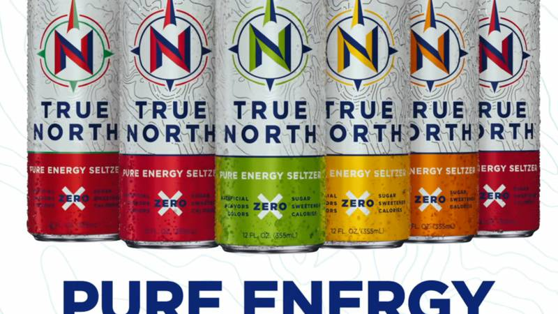 True North Energy Seltzer is a plant based organic energy blend with immunity support, zero...