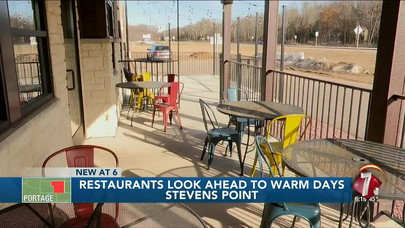 Warmer weather has restaurants opening patio seating early