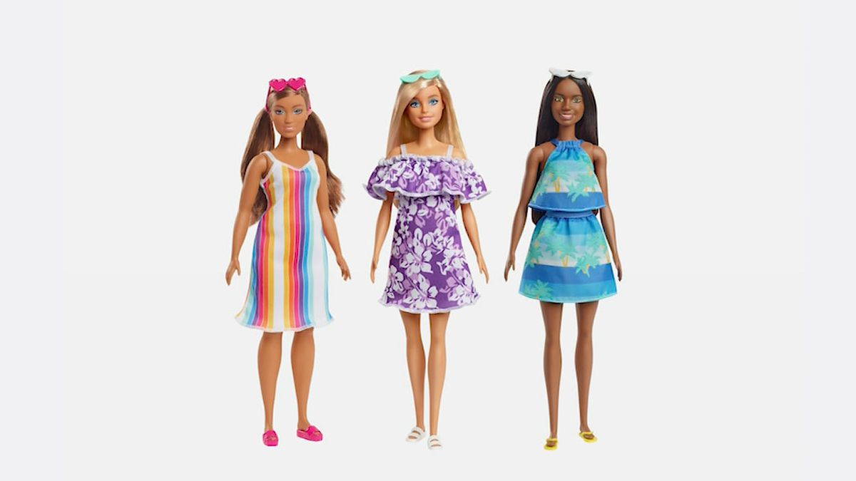 Mattel released a new line of Barbie dolls made from plastic it says would otherwise end up in...