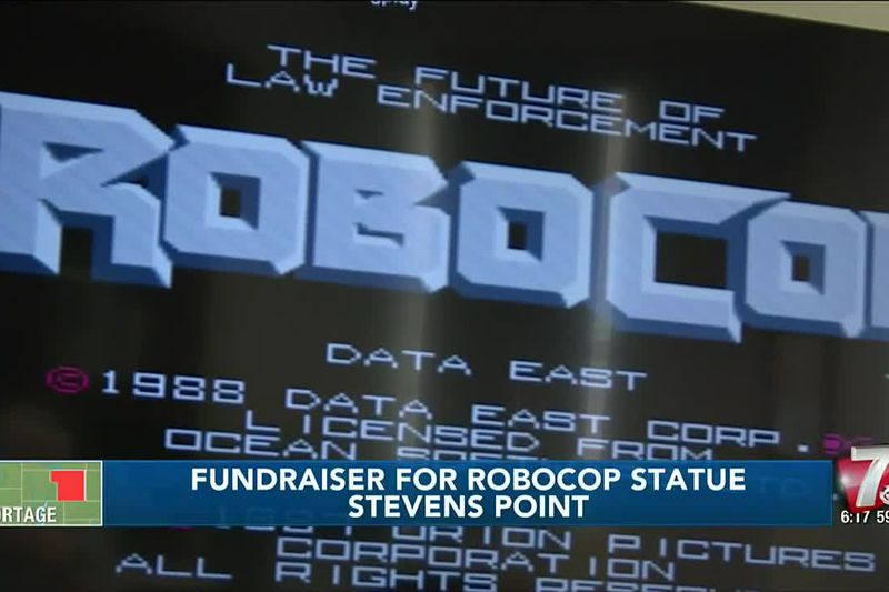 Video game tournament will raise funds to erect RoboCop statue in Stevens Point