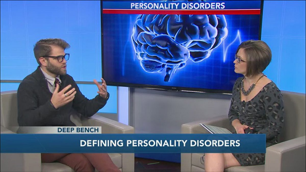 Dr. Brian Weiland talks about how personality disorders differ from other mental health conditions (WZAW photo)