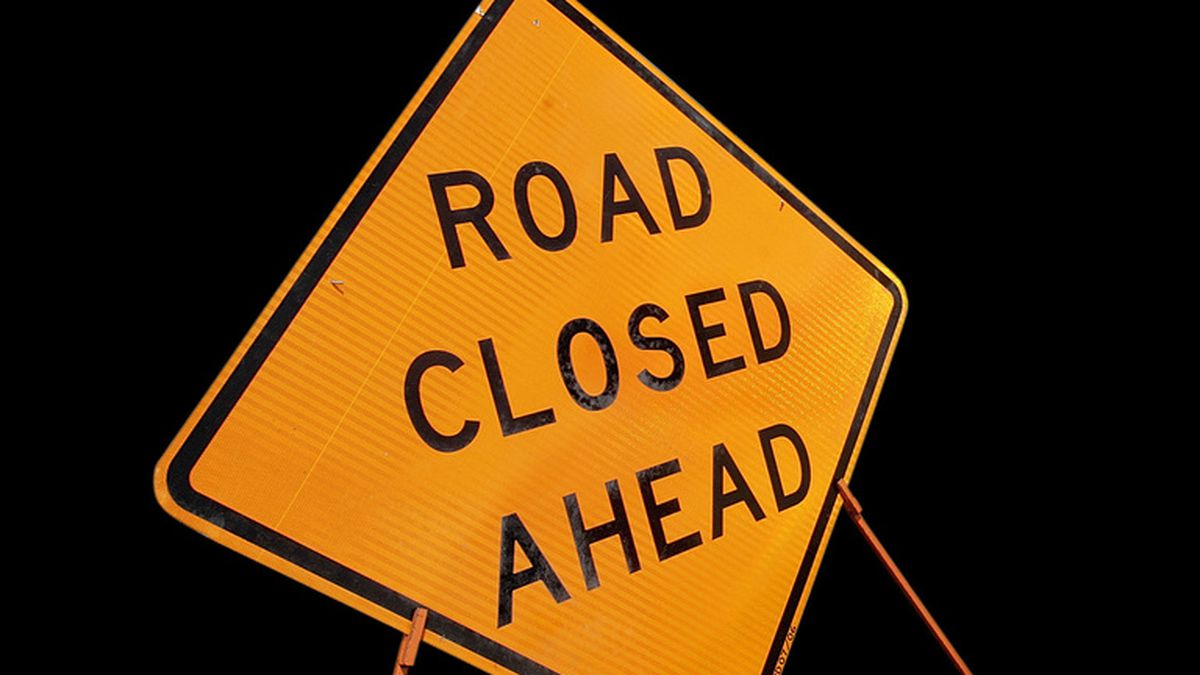 North 3rd Avenue from West Union Avenue to Norton Street will be closed for emergency repairs...