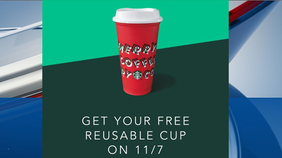 Starbucks announces reusable cup promotion in Nov. 6 email to customers