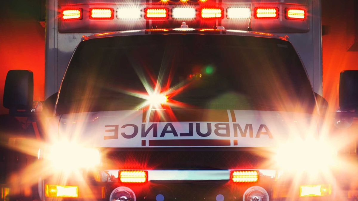 A bicyclist died Thursday afternoon after they were hit by a vehicle in Waupaca County.
