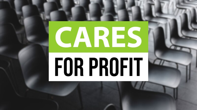 For-profit colleges received more than $1 billion from the CARES Act, money that was intended...
