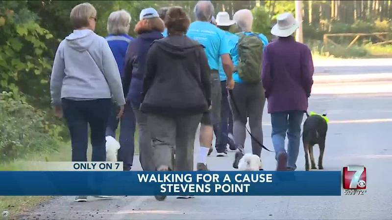 Stevens Point woman raising money for a cause while walking over 1400 miles