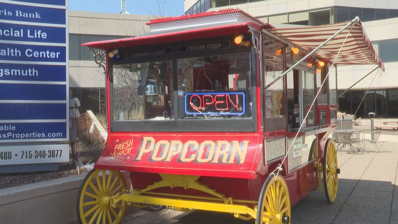 Chip's Popcorn returns to the 400 Block of downtown Wausau for at least one more season.