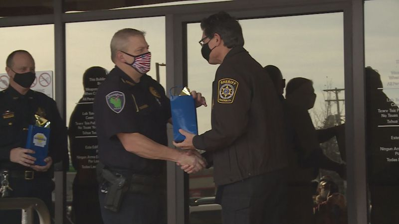 People in Marathon County are getting a chance to pay it forward and show their appreciation to...