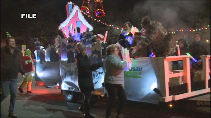 The holiday parade will be stationary this year and will be spread out throughout Marathon Park.