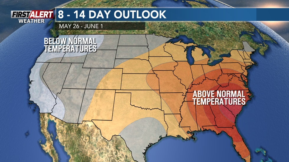 End of the month ends on a somewhat warm and mild note