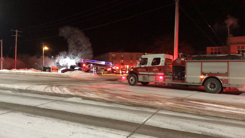Wausau fire crews responded to a call for a structure fire at an apartment complex on East...