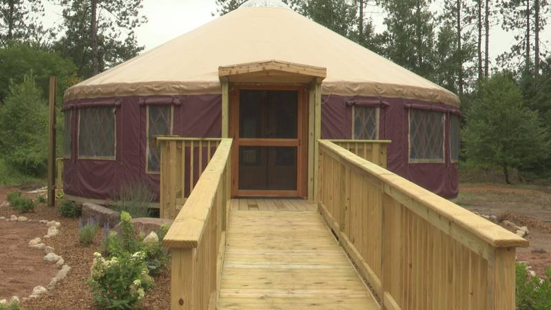 The school will be housed inside a yurt on the property