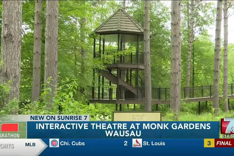 Interactive Theatre At Monk Gardens