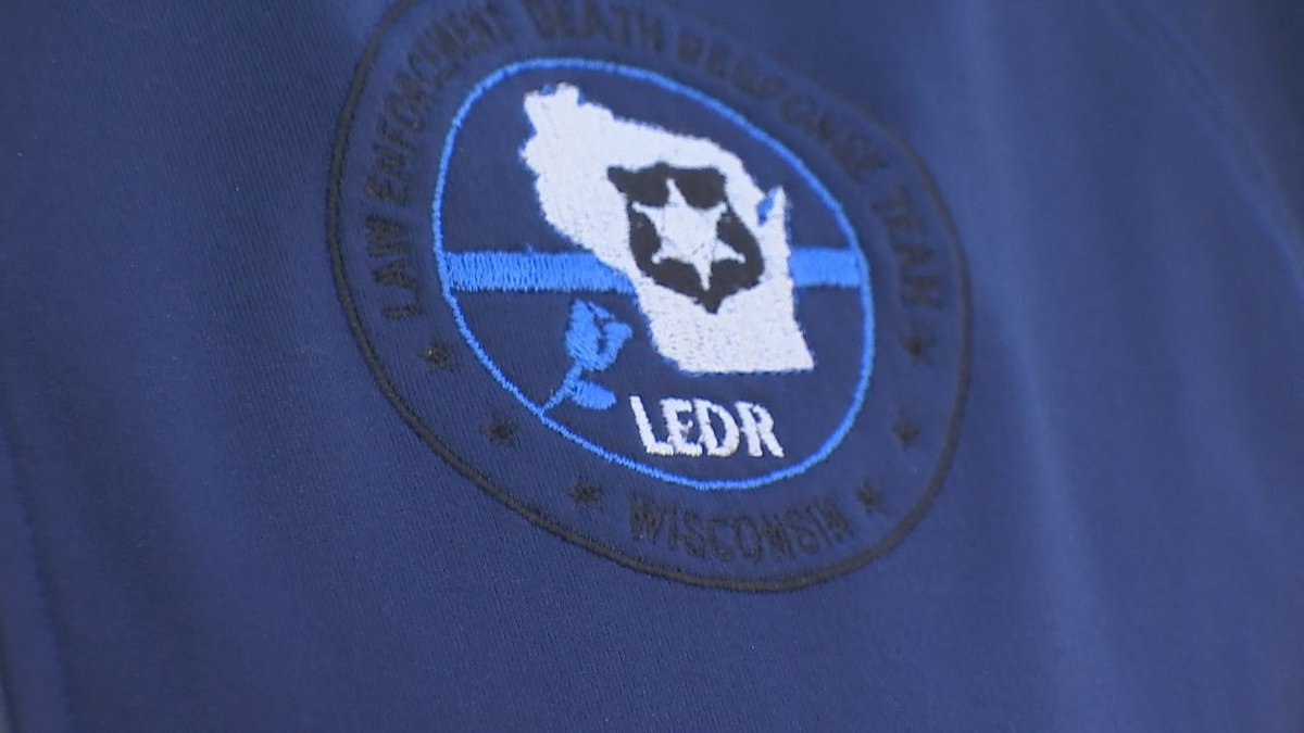 Officers from across Wisconsin volunteer for the Law Enforcement Death Response (LEDR) Team to...