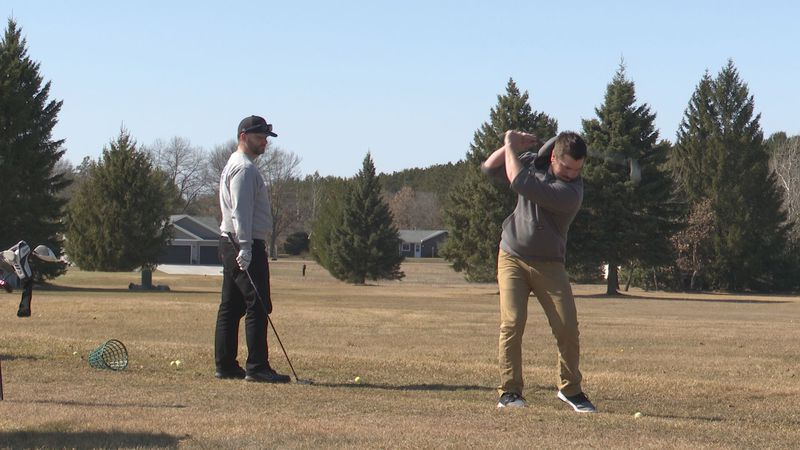Golfers enjoy access to courses