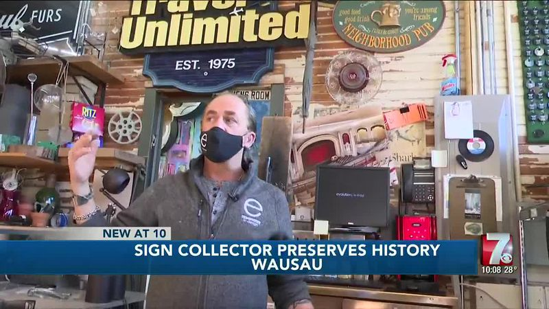 Sign collector preserves history