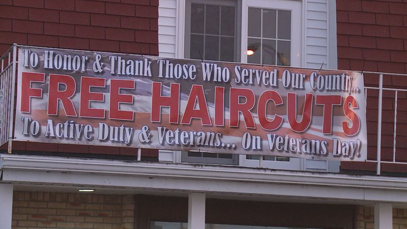 New Kreations in Stevens Point is offering free haircuts for veterans throughout the month of...