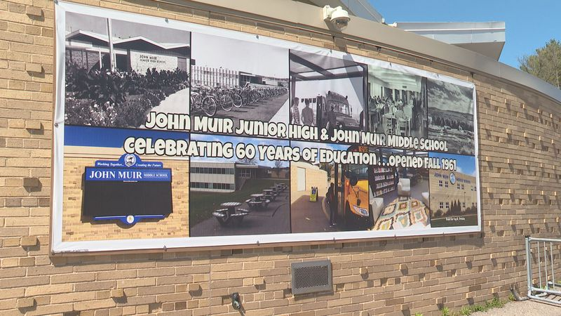 John Muir Middle School celebrates 60 years.