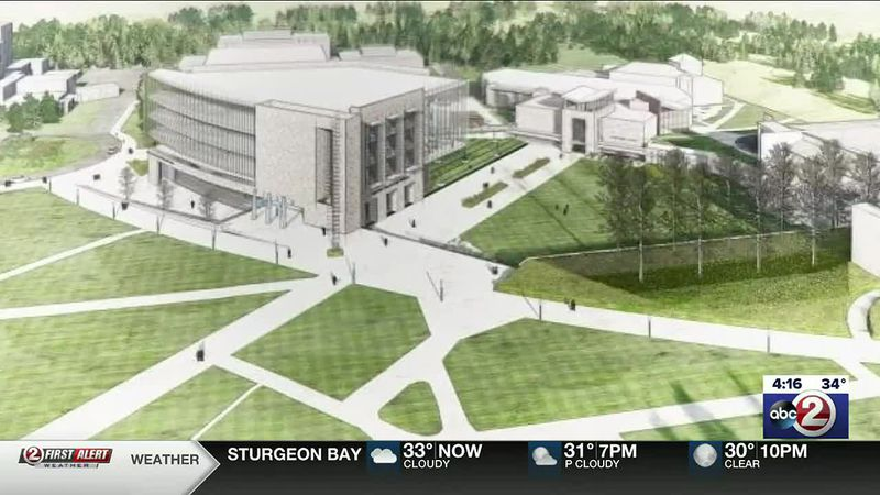 New $96 million Cofrin Technology & Education Center at UWGB proposed in Evers' Capital Budget