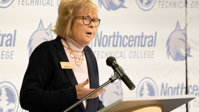 Dr. Lori Weyers will retire as President of Northcentral Technical College