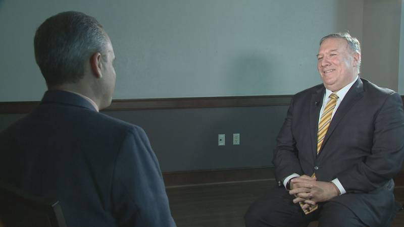 Mike Pompeo speaks 1-on-1 with NewsChannel 7's Dale Ryman.