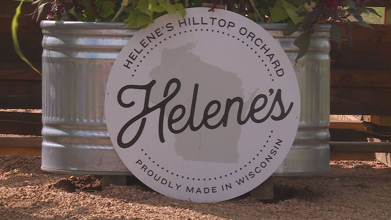 Helene's Hilltop Orchard in Merrill, WI. opens for the season.