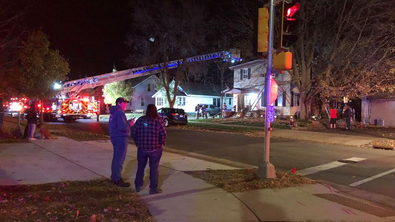 Home damaged after chimney fire in Wausau