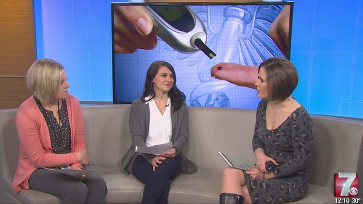 Jennifer Clark and Justine Riesterer discuss the Healthy Living with Diabetes program (WSAW...