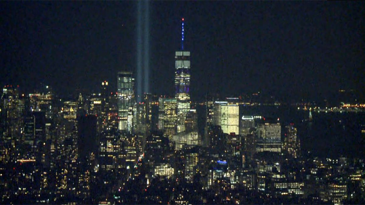 There will be no spires of light this Sept. 11.