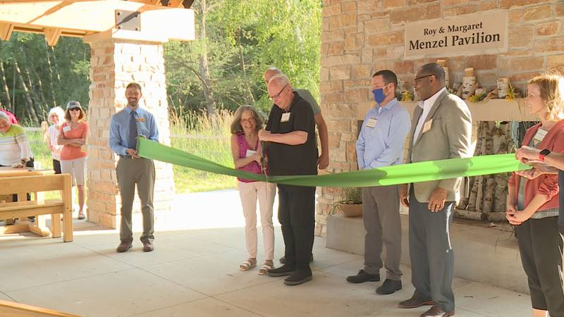 The Green Circle Trail in Stevens Point unveiled its new trailhead. It gives bikers and hikers...