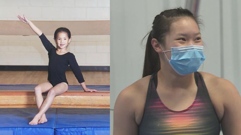 Hanna Merkel is set to compete in the WIAA 2021 Individual All-Around Gymnastics meet.
