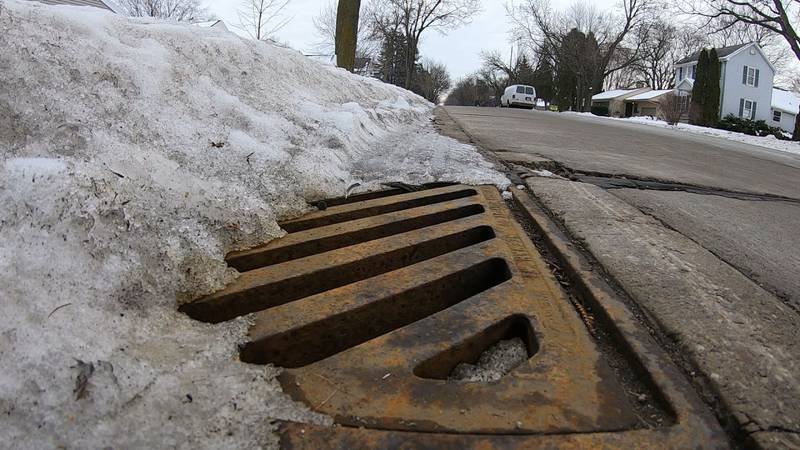 Salt used on sidewalks and roads can be toxic to freshwater ecosystems