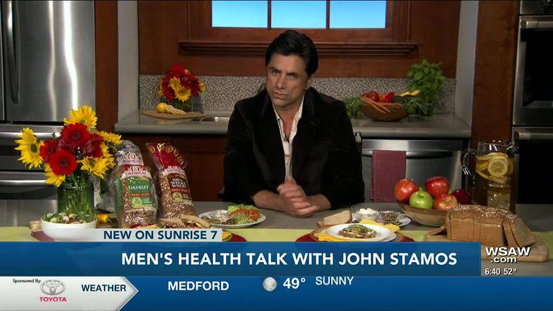 Men's Health Talk With John Stamos