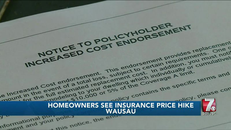 Homeowners may notice higher insurance premiums this year