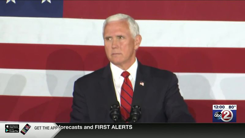 Pence delivers address at Ripon College