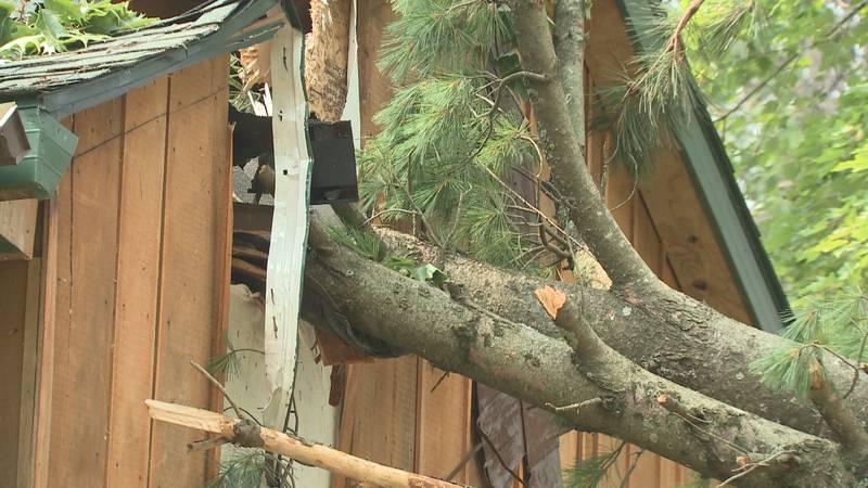 Portage County Storm Damage.